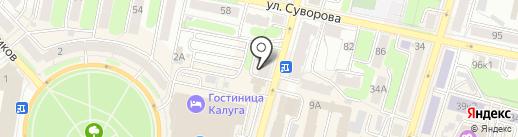 Партнёр на карте Калуги