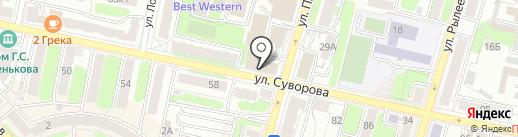 Мясной край на карте Калуги