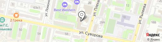 Калуга-пресса на карте Калуги