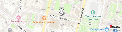 Магазин штор на карте Калуги
