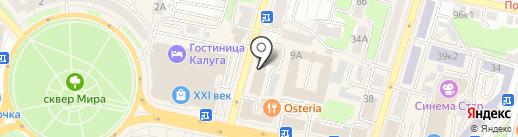 Строительно-техническая экспертиза на карте Калуги