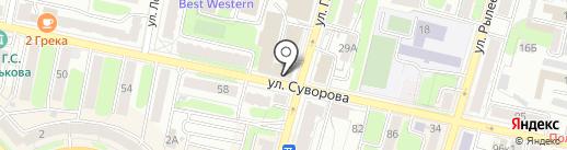 Пивной 40 на карте Калуги