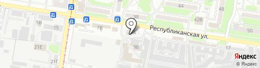 Универсал-Электро на карте Курска