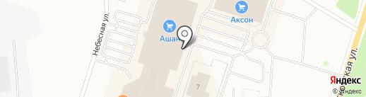 Парикмастерский на карте Калуги