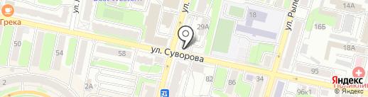Автопрокат №1 на карте Калуги