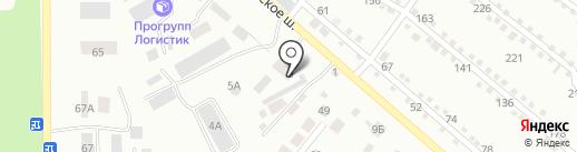 Специальный приемник для содержания лиц, арестованных в административном порядке на карте Калуги