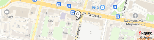 Адвокатский кабинет на карте Калуги
