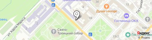 Фонд имущества Калужской области на карте Калуги
