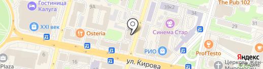 Олимп на карте Калуги