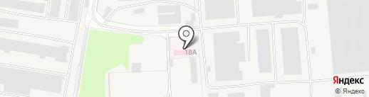 Мельница на карте Курска