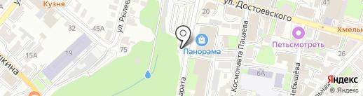 Согдиана на карте Калуги