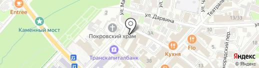 Военный комиссариат Калужской области на карте Калуги