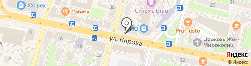 Ателье на карте Калуги