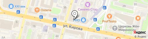 EXIT40 на карте Калуги