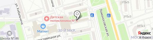 Магазин отделочных материалов и сантехники на карте Калуги
