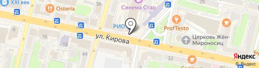 Ковчег на карте Калуги