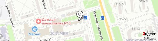 Магазин товаров для детей на карте Калуги
