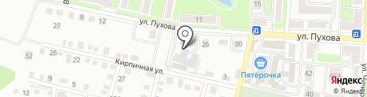 Флотенк, ЗАО на карте Калуги