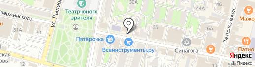 Арт-студия ногтевого дизайна Литвиновой Ксении на карте Калуги