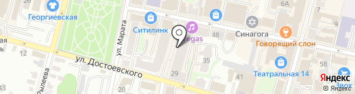 ДентаЛюкс на карте Калуги