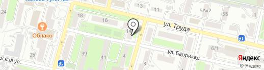 Рыболоффф на карте Калуги