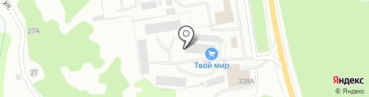 Транспортная компания на карте Калуги