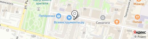 Фетта Пицца на карте Калуги