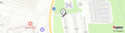 Северное, ПО на карте Калуги