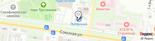 Банкомат, РоссельхозБанк на карте Курска