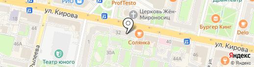 585 GOLD на карте Калуги