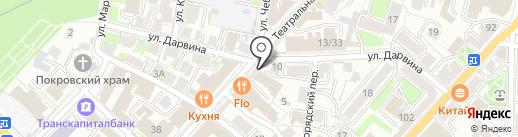 Show line на карте Калуги