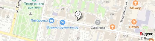 MED обеспечение на карте Калуги