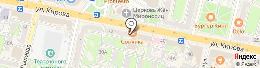 IMPERIA lounge bar на карте Калуги