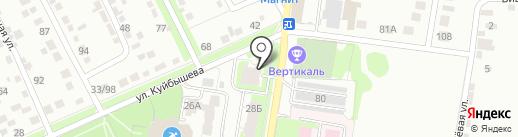 Парикмахерская на карте Курска