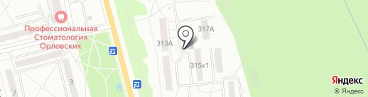 Детская школа искусств №8 на карте Калуги