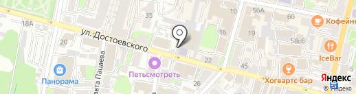 Калужский автоцентр КамАЗ, ЗАО на карте Калуги