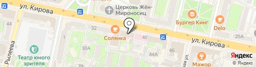 Салон парфюмерии на карте Калуги