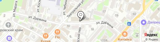 Православная гимназия в г. Калуге на карте Калуги