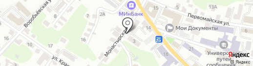 Специалист на карте Калуги
