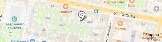 Областной наркологический диспансер Калужской области на карте Калуги