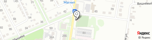 Вертикаль на карте Курска