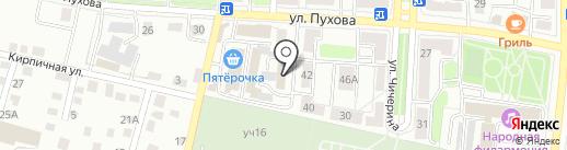 Всероссийское добровольное пожарное общество на карте Калуги