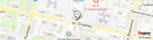 Арт Веб на карте Калуги