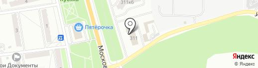 Управление Федеральной службы по ветеринарному и фитосанитарному надзору по Калужской области на карте Калуги