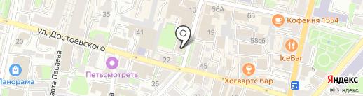 Хмельной Король на карте Калуги