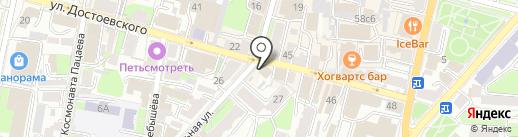 Пельменная на карте Калуги