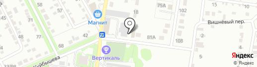 Лига-М на карте Курска