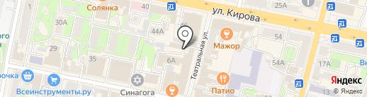 ГЕРМЕС на карте Калуги