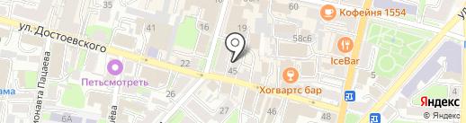 Sweet House на карте Калуги
