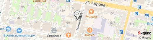 Ветер с Востока на карте Калуги